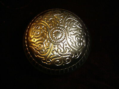 Brass Embossed Eastlake Door  Knob.  5919