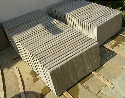 RAJ GREEN Indian Sandstone Bullnose Copping Best for Pools / Steps /Wall Capping