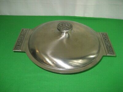 International Decorator 18-8 Stainless Steel Serving Dish with Lid