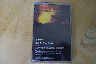 Ratt -Out Of The Cellar  Tape