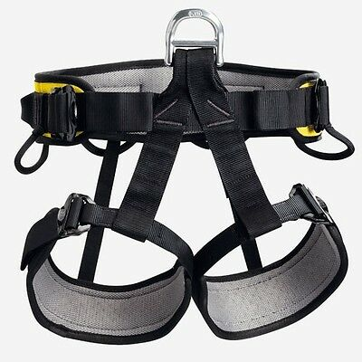 Petzl Falcon Rescue Sit Harness C38AAA 2 (M-XL) Lightweight Seat Climbing Safety