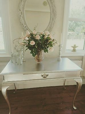 Large Vintage Writing Silver Desk / Bureau * SOUP UK