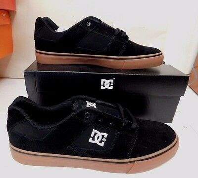 DC Bridge Mens Casual Shoes Black/White/GUM 320096 Size 11 M (21799)
