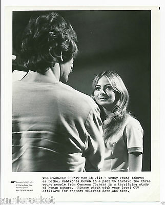 """The Starlost :Only Man Is Vile-Trudy Young- CTV 8"""" x 10"""" B&W Photo-#179-1973"""