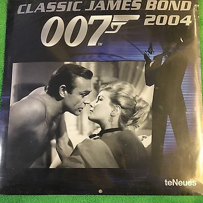 Official Classic JAMES BOND 007 Sealed 2004 Calendar English Free Post