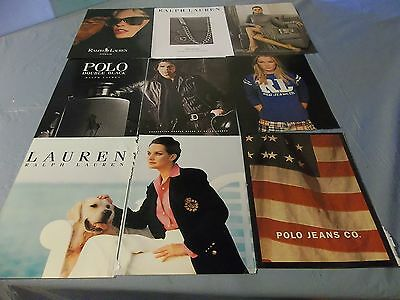 Lot of Polo Ralph Lauren print ads   clippings #904