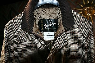 BARBOUR Classic Tweed Jacket Shooting Fishing Walking Size Large Great Condition