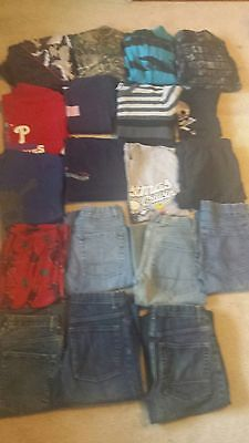 19 Piece Lot of Boys Fall/Winter Clothes ~ Sizes 10 to 16