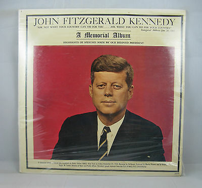 John Fitzgerald Kennedy - A Memorial Album - In Mint Sealed Condition