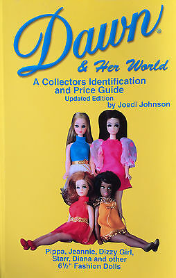 1970s Topper Toys Dawn Doll Angie Dale Jessica Longlocks Full Color ID Book