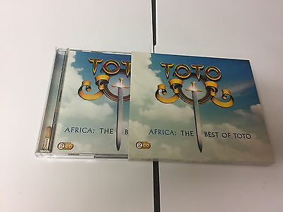 Africa: The Best Of… ~ Toto  2 CD - MINT 886975374823
