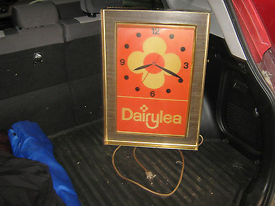Dairylea Lighted Clock