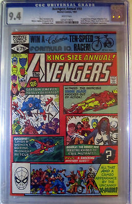 Avengers Annual #10 CGC 9.4 Marvel KEY 1981 1st Rogue 1st Madelyne Pryor (X-men)
