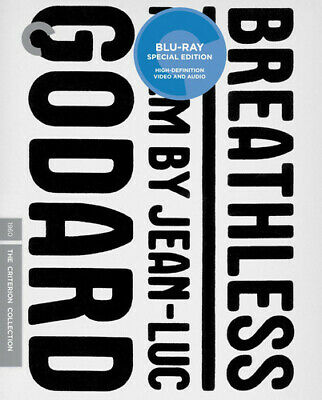 Breathless (Criterion Collection) [New Blu-ray] Restored, Special Edition, Sub