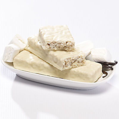 Ideal Protein Compatible  (2 Boxes Of 7 Fluffy Vanilla Crisp Protein  Bars)