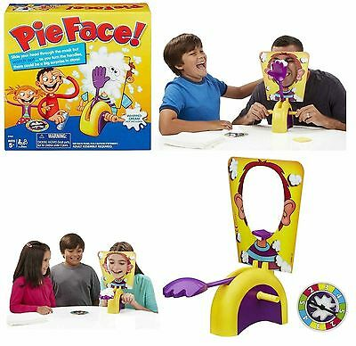 Hasbro Pie Face Game Family Fun Filled Game Of Suspense Boxed Toy Xmas Gift