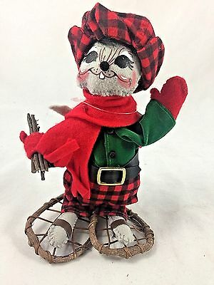 """ANNALEE 6"""" CHRISTMAS WOODLAND MOUSE - NEW with TAG - 2011 (4221)"""