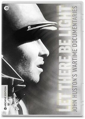 Let There Be Light: John Huston's Wartime Documentaries [New DVD] With Blu-Ray