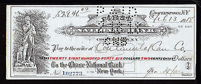 1918 First National Bank - ( Leatherstocking) - Cooperstown, N.y.