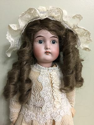 """Antique Doll Magestic Bisque On A Comp Body 16"""""""