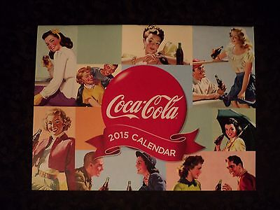 Collectible 2015 Coca-Cola Calendar NOS