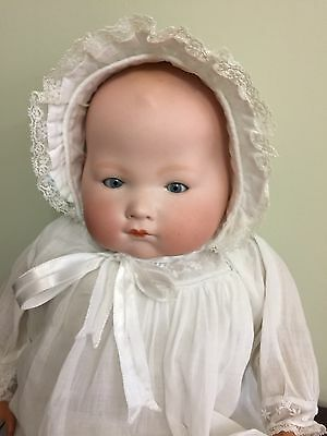 """Antique Doll Armand Marseilles 345 Kiddijoy Bisque On Cloth Body 20"""""""