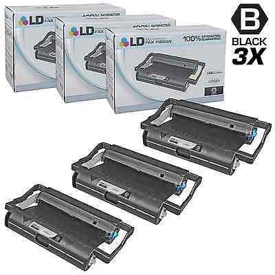 LD © Compatible Replacements for Brother PC201 Set of 3 Fax Cartridges With Rol