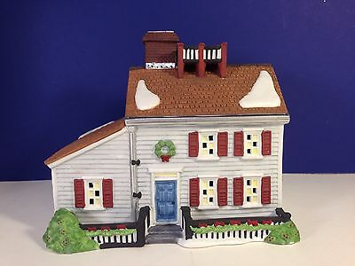 Dept 56 New England Village JEREMIAH BREWSTER HOUSE w/box Combine Shipping!