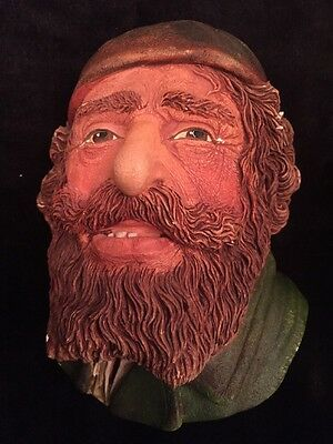 Vintage 1985 Fagin By Legend Products Made In England Chalkware Head F Wright