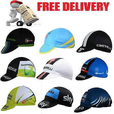 CYCLING TEAM CAPS | pro road bike bicycle head bandana hat sports summer gear|