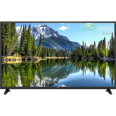 "Seiki SE60FO01UK 60"" Smart LCD 1080p Full HD Freeview HD TV Black New"
