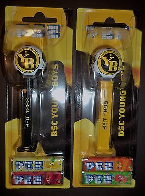 Set of  2 PEZ YOUNG BOYS BERN Dispensers MOC