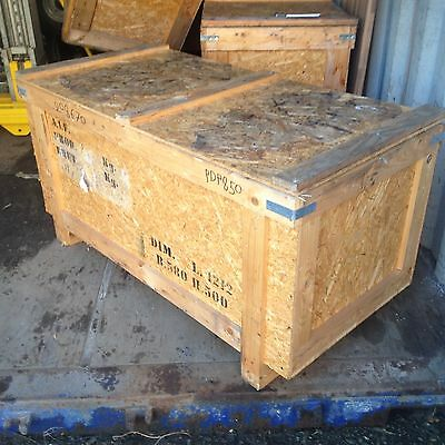 Wooden OSB Packing Crate Shipping Container Cases Storage Boxes