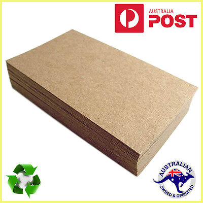 Brown Kraft Paper 100 x Sheets A4 225GSM Natural Recycled Premium Quality