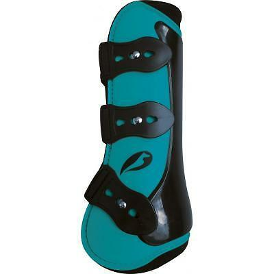 NORTON Competition Tendon and Fetlock Boots Set Turquoise Full