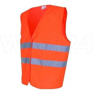 (020) Heyner warning vest ORANGE, Break-down crew Accident Safety