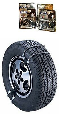 SCC Emergency Strap On Tire Cable Chain (13,14,15 tire) ES8961 Snow Ice Traction