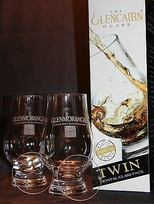 Glenmorangie Twin Pack Glencairn Tasting Glasses With Two Watch Glass Covers
