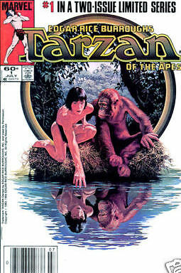 Tarzan of the Apes #1 (Jul 1984, Marvel) VF COMIC BOOK