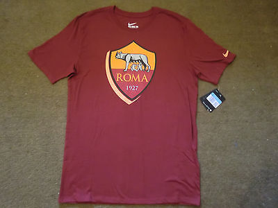 Nike Roma Football Team T Shirt Size M *NEW*