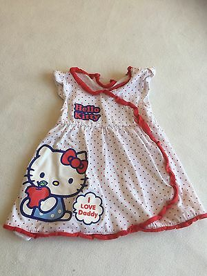 Baby Girls Clothes 12-18  Months - Cute Hello Kitty Tunic Top -