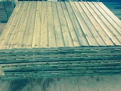 Feather Edge fence panels 6ft x 5ft Heavy Duty £18.95 (Close Board)