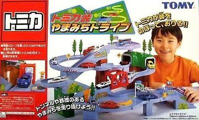 TOMICA World Scene Mountain Drive High Speed Curve Set (Get 2 Free Random Car)