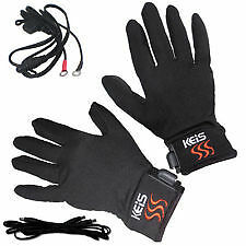 Keis Heated Inner Outdoors Motorcycle Gloves (New)
