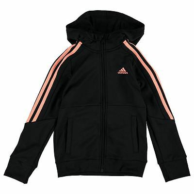 Adidas Poly Tracksuit Top Junior Girls Size 18-24Months