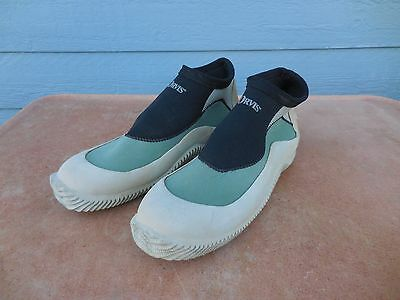 Men's ORVIS Wading Water Shoes Fly Fishing Diving Low-Top Flats Rubber Size 12