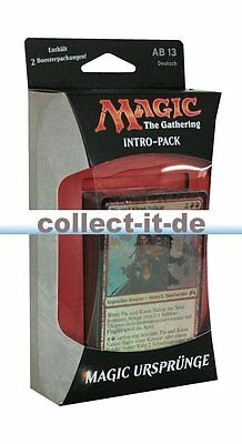 Intro Pack - Magic the Gathering Ursprünge - Bauplan zum Sieg - Deutsch