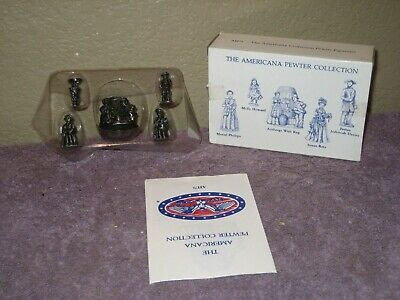 Liberty Falls - Americana Pewter Collection 5 Piece Miniature Accessory Set AH71