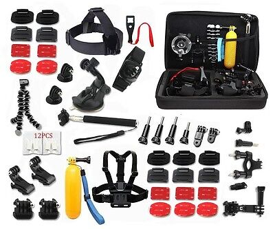 Kit For GoPro Accessories Session Hero 3-4-5 Go Pro sj4000 sj5000 Equipment New