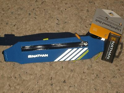 Nathan Lightspeed Belt Running Waist Pack Blue